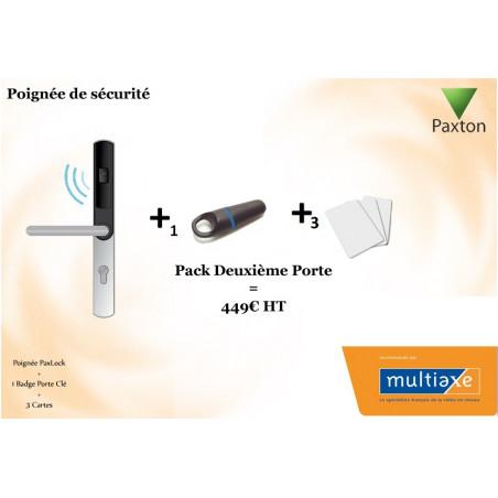 Pack Poignée De Sécurité Deuxième Porte Paxton PaxLock