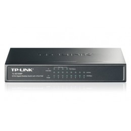 Switch TL-SG1008P, 8 Ports Gigabit - 4 Ports PoE