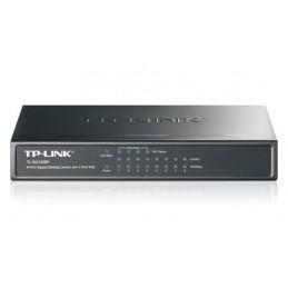 Switch TL-SG1008P, 8 Ports Gigabit - 4 Ports PoE