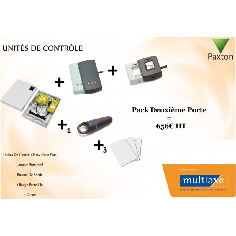 Pack Unités De Contrôle Deuxième Porte Paxton