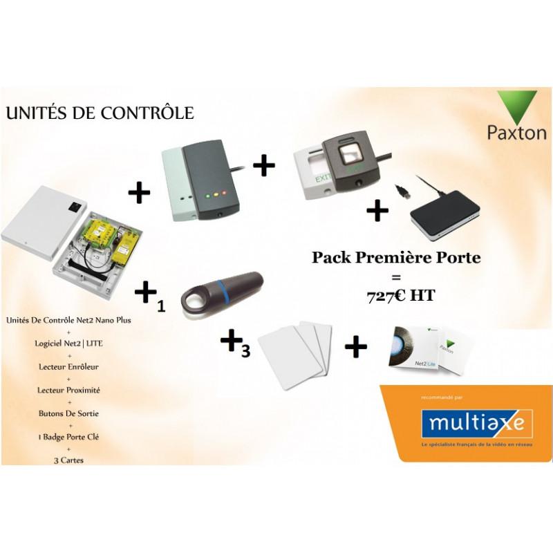 Pack Unités De Contrôle Première Porte Paxton