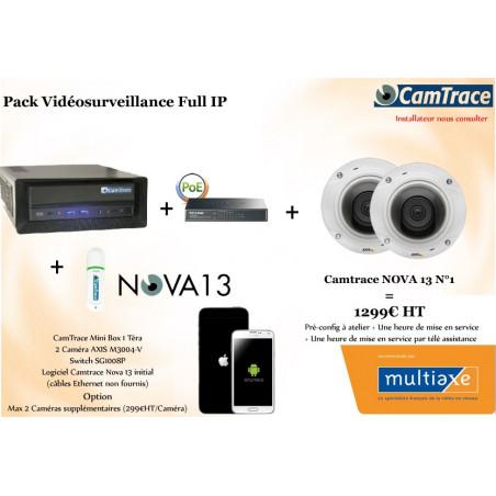 Pack Vidéosurveillance Full IP N°1