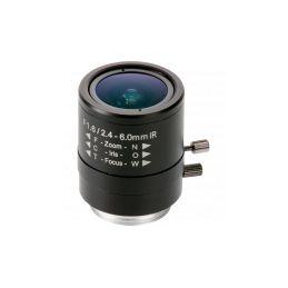 Objectif à focale variable et diaphragme manuel 2,4 - 6 mm