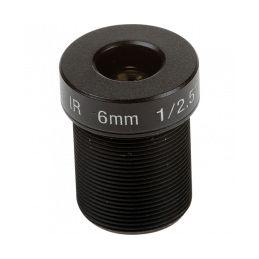 Objectif mégapixel M12 6 mm, F1.6
