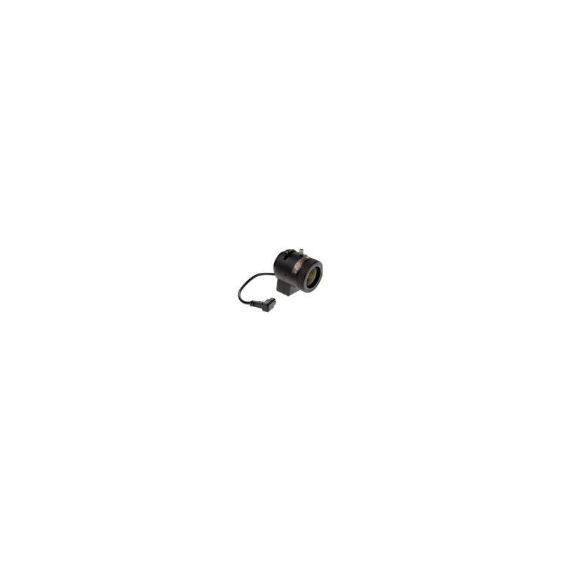 Objectif à focale variable 3-10.5 mm, Diaphragme DC (DC-iris)