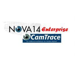 Licences Camtrace Entreprise caméras Pour serveur NOVA 13, NOVA 14 (1 licence par caméra)