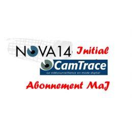 Abonnement 1 an aux mises à jour logiciel Camtrace Initiale pour 10 caméras