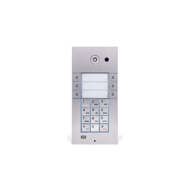 2N® IP Vario - 3x2 boutons, le clavier, la caméra