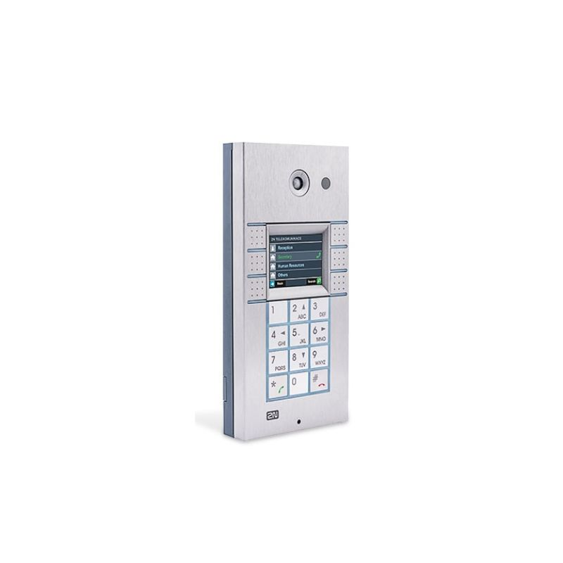 2N® IP Vario - 3x2 boutons, le clavier, l'écran