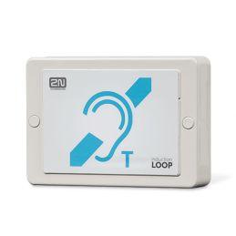 2N® Induction Loop avec le connecteur pour interphone 2N IP