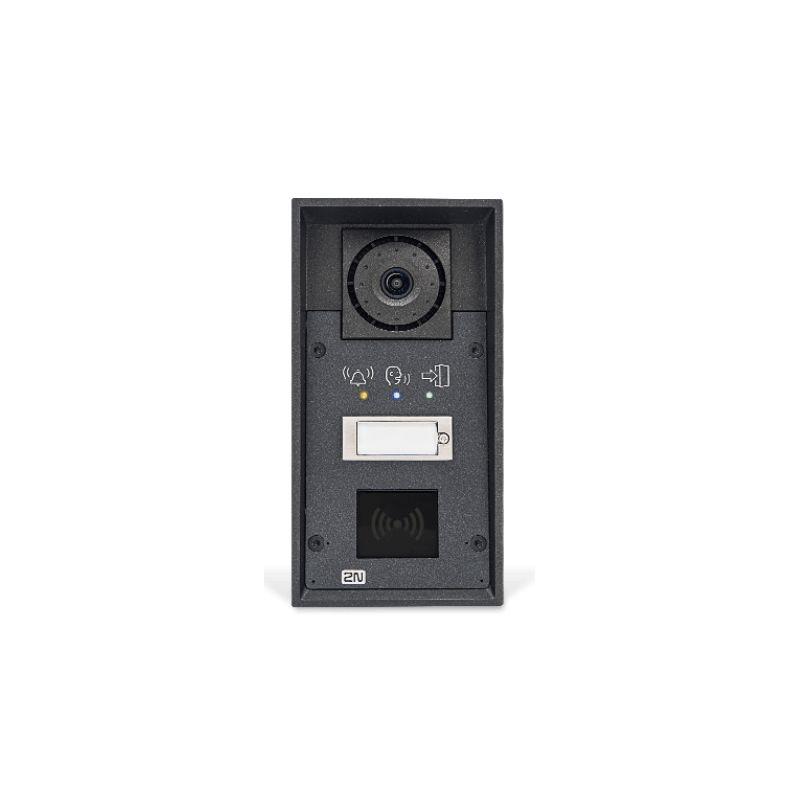 2N® IP Force - 1 bouton, pictogrammes, prêt pour le lecteur
