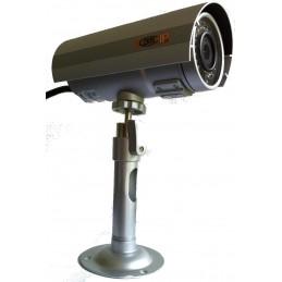 Caméra IP Megapixel d'extérieur en caisson IP66 avec Leds IR